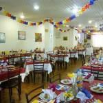 Hotel Tre pini sala ristorante